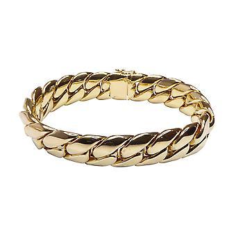 18 k gold bracelet solid