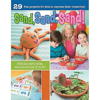 Leisure Arts-Sand, Sand, Sand