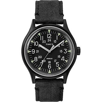 Timex heren horloge MK1 staal 40 mm stof armband TW2R68200