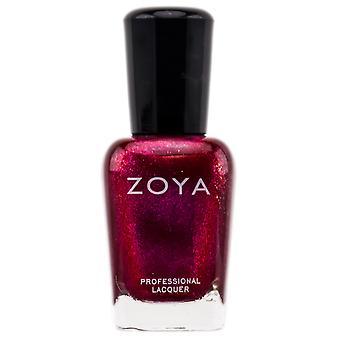 Zoya naturalnych paznokci - czerwony (kolor: Alegra - Zp510)