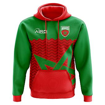 2018-2019 Morocco Home Concept Football Hoody (Kids)