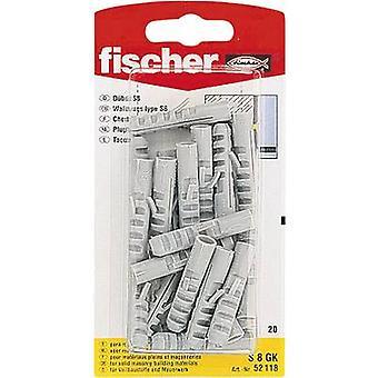 Palanca de resorte Fischer S 6 GK 30 mm 6 mm 52116 30 PC