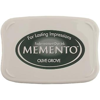Memento Dye Ink Pad-Olive Grove