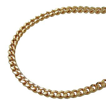 Flat tank 2, 8 mm chain 55cm gold plated AMD