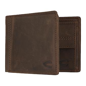 Camel active mens wallet wallet purse with RFID-chip protection Brown 7326