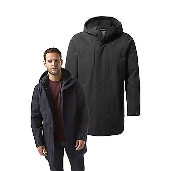 Hombres Craghoppers Eoran impermeable chaqueta