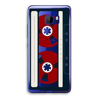 HTC U Ultra Transparent fodral (Soft) - här är din tejp