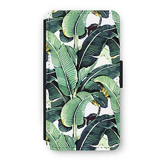 iPhone XS Flip Case - Banana leaves