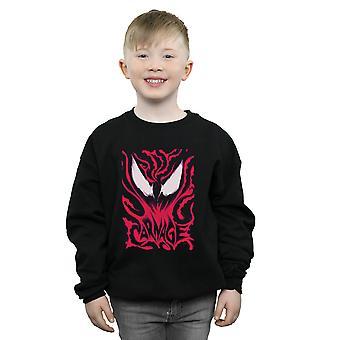 Marvel jungen Venom Gemetzel Sweatshirt
