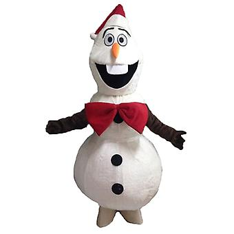 mascot SPOTSOUND of Olaf, a famous man of snow from the snow Queen