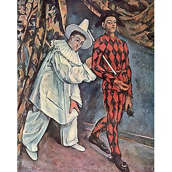 Mardi Gras, Paul Cezanne, 50x40cm