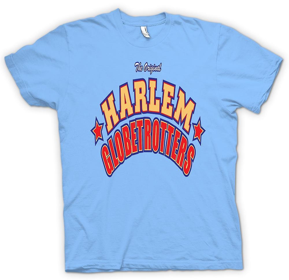 Mens t-shirt - Harlem Globetrotters - basket