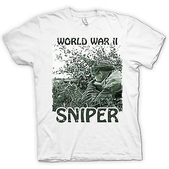 La Première Guerre mondiale 2 Sniper - Infanterie T-shirt