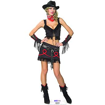 Cowgirl babe - Lifesize papp åpning / Standee