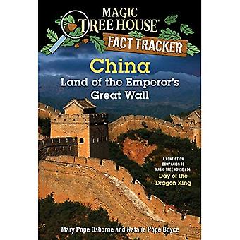 Magic Tree House Fact Tracker #31: China: Land of the Emperor's Great Wall: A Nonfiction Companion to Magic Tree...