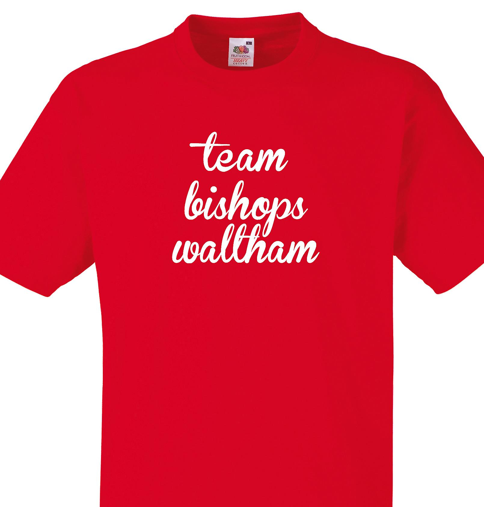Team Bishops waltham Red T shirt