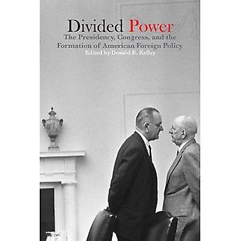 Divided Power: The Presidency, Congress, and the Formation of American Foreign Policy (Fulbright Institute Series on International Affairs)