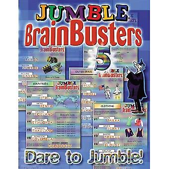 Jumble Brainbusters: Dare to Jumble!: 5 (Jumble Brain Busters)