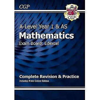 Neue A-Level Mathematik für Edexcel: Jahr 1 & als komplette Revision & Praxis mit Online-Ausgabe