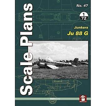 Scale Plans 47: Junkers Ju� 88 G: 2018 (Scale Plans)