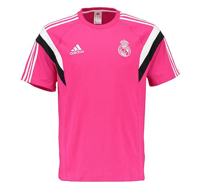 2014-2015 Real Madrid Adidas Training Tee (Pink)