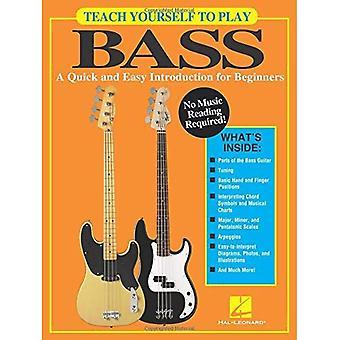 Teach Yourself to Bass schnell & einfache Einführung BGTR Buch spielen