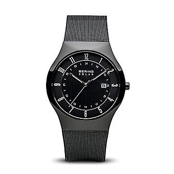 BERING Solar Analog Man with stainless steel strap 14640-222