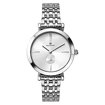 Accurist Quartz analogue watch with stainless steel strap 8179.01