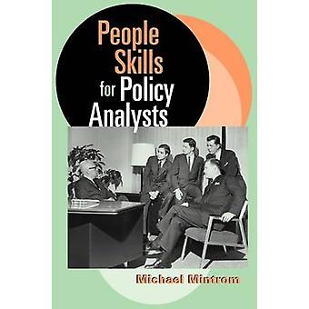 Habilidades das pessoas para os analistas de política por Mintrom & Michael