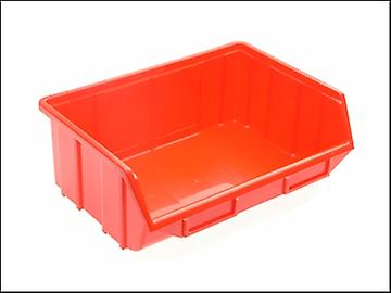 Terry Plastics TE114 Red Ecobox W220 x D355 x H167mm
