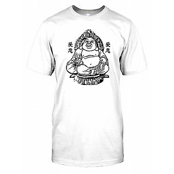 The Golden Belly - Funny Big Buddha Kids T Shirt
