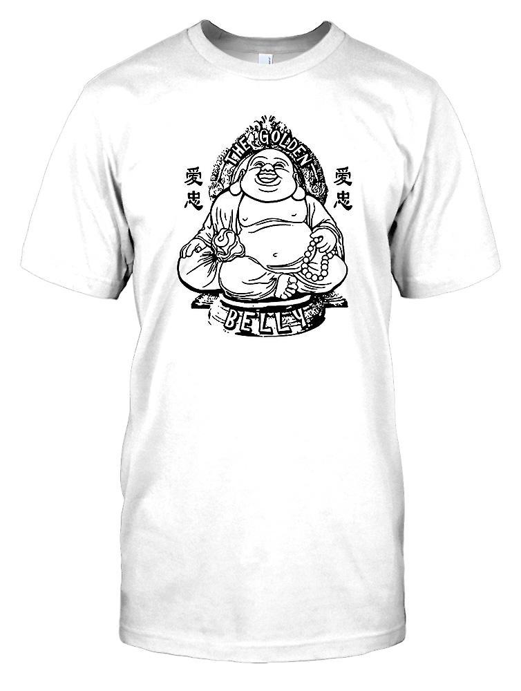 The Golden Belly - Funny Big Buddha Kids T Shirt