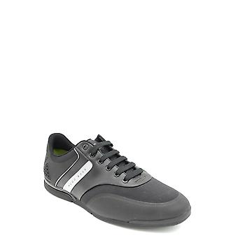 Hugo Boss Black Leather Sneakers