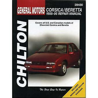 GM Corsica and Beretta 1988-96 by Chilton Editorial - Chilton Automot