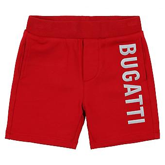 Bugatti Kids Bermuda Roure Shorts, Red