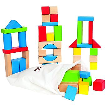 Hape E0409 Maple blok Set (50 stuks)