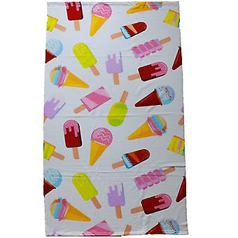 Microfibre Bath Towel, Ice Creams