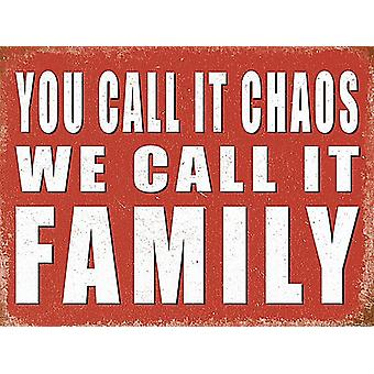 You Call It Chaos We Call It Family funny fridge magnet  (og)