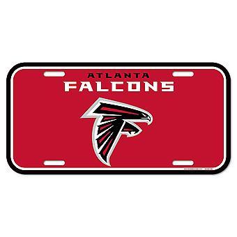 Wincraft NFL License Plate - Atlanta Falcons
