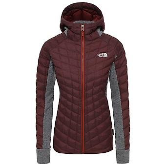 The North Face Sequoia Red Womens ThermoBall Gordon Lyons Hooded Jacket