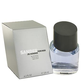Sander by Jil Sander Eau De Toilette Spray 4.2 oz / 125 ml (Men)