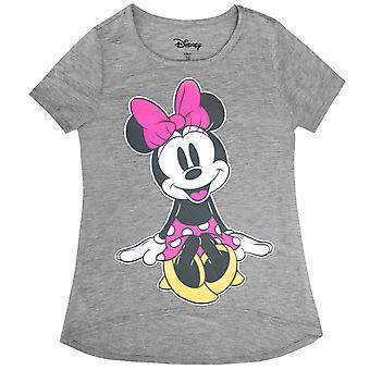 T-Shirt cinzenta da Minnie Mouse Cutie juventude menina