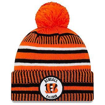 New Era Sideline Home 2019 Bommel Hat Cincinnati Bengals