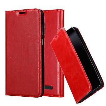 Cadorabo Hülle für ZTE Nubia N1 LITE Case Cover - Handyhülle mit Magnetverschluss, Standfunktion und Kartenfach – Case Cover Schutzhülle Etui Tasche Book Klapp Style