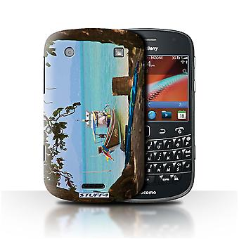 STUFF4 Case/Cover for Blackberry Bold 9900/Boat/Beach/Thailand Scenery