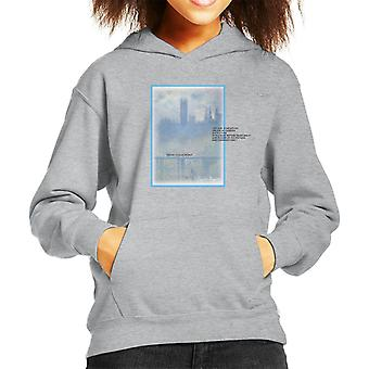 A.P.O.H Oscar Claude Monet Painting Quote Kid's Hooded Sweatshirt