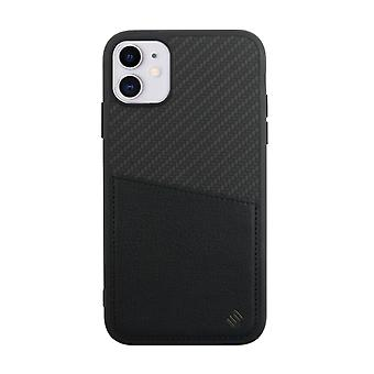 iPhone 11 Case Carbon Back Shell Black