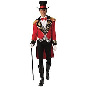 Ringmaster Ringleader Circus Performer Magician Showman Adult Mens Costume