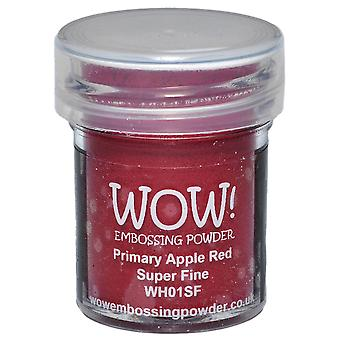 Wow! Embossing Powder Super Fine 15Ml Primary Apple Red Wow Sf Wh01