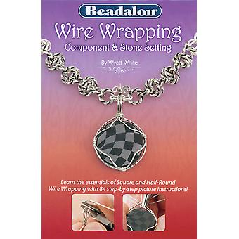 Beadalon boeken Wire Wrapping Component & steen instelling Bw Wire2